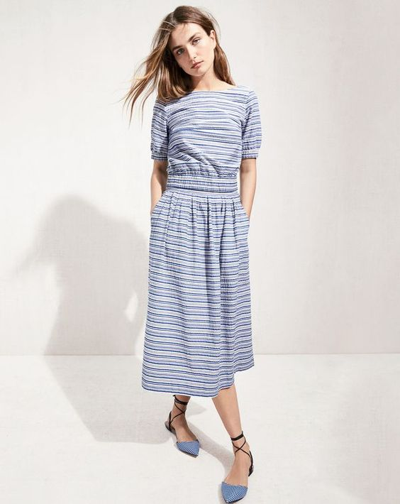 Do you speak J.Crew? Hookup. Definition: an outfit with a top and bottom in the same print.: