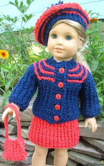 Free Knitting Patterns For Large Dolls : Free Pattern i NEED to learn how to Knit this is so cute ...