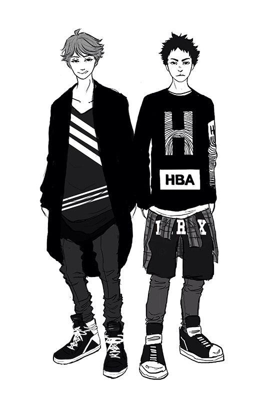 Street fashion concept