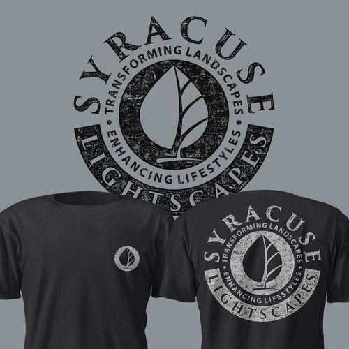 Modern Tshirt For Landscape Design