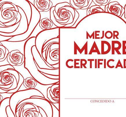 Feliz Día de la Madre  Mothers Day Certificate by AshatyThomas