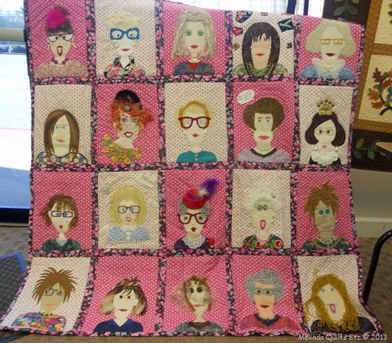 cute face quilt | Quilts - For the Girls | Pinterest | Quilt and Faces : face quilts - Adamdwight.com