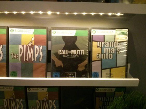 De TV's konden niet aan, de games waren nep en ze hadden 1000x hetzelfde boek