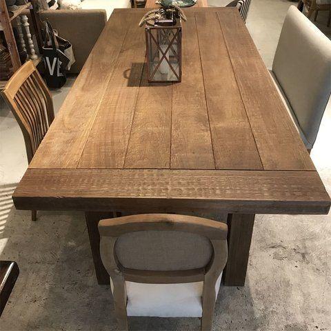 Mesa comedor provance en 2019 | Mesas de comedor de madera ...
