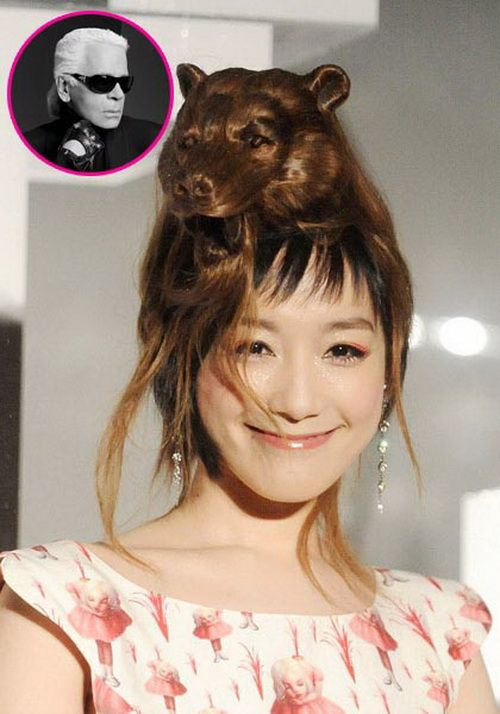 Crazy and Weird Hairstyles ~ CRAZY PICS !