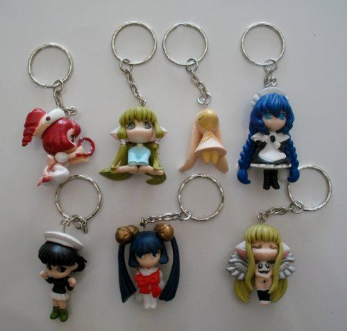 7 Chobits Chi Yuzuki Yumi Sumomo Kotoko Bunny Anime Keychains Set: Big Buyer, Anime Cosplay, Bunny Anime, Chi Yuzuki, Cosplay Figurines, Craft Ideas, Anime Keychains