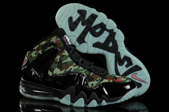 Low Price Nike Barkley Posite Max Cano Black Shoes Shop