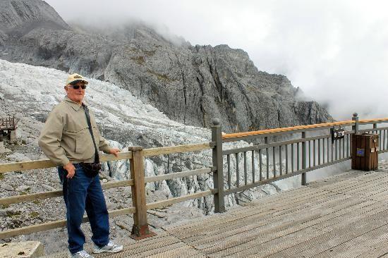 Glacier on Jadde Dragon Snow Mountain