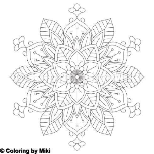 Blumenmandala Malvorlagen Farben Farbenfurerwachsene Muster Design Mandalas Free Coloring Pages Mandala Ausmalen Mandala Malvorlagen Malvorlagen