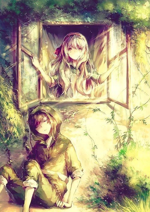 Beautiful anime couple