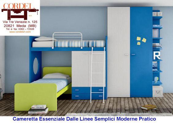 #camerettaponte#camerettaragazzi#moderna#lineare#pratica#solida