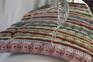 Free Crochet Patterns Clothes Hangers : Hangers, Facts and I want to on Pinterest