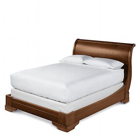 Marston Light Cherry Sleigh Bed $2195 #bedroom: Sleigh Beds, 2195 Bedroom, 3/4 Beds, Marston Frame,  Day Bed, Cherry Sleigh Bed, Master Bedroom, Bed Marston