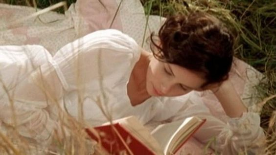 Catherine Morland, Northanger Abbey (2007)  #film #Jane_Austen #read #book: