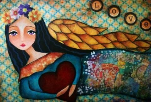 Angel de la primavera / Ana Ferrer
