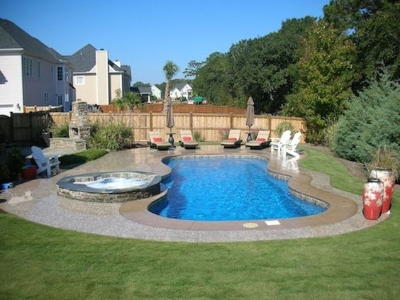 Fiberglass Pools Pools And Fiberglass Swimming Pools On Pinterest