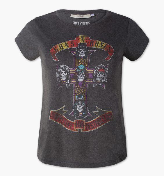 T-Shirt dans gris chiné