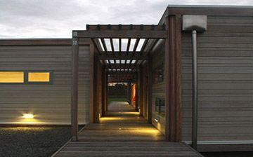 Rusticated weatherboards cedar cladding rusticated cedar - Exterior cladding cost comparison ...