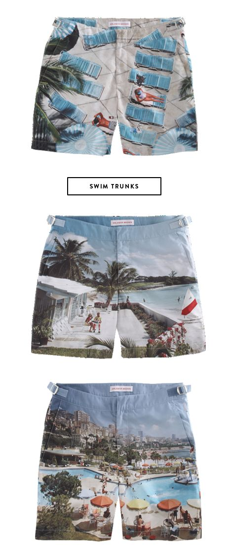 swim-trunks. can I get away with wearing these with a white tank?