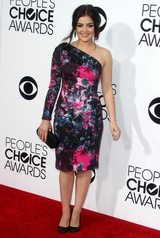 Lucy Hale at the 2014 People's Choice Awards