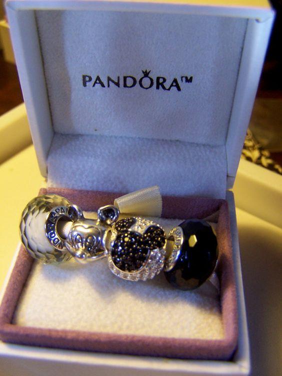 Pandora Mouse Charms