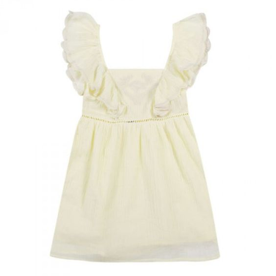 Robe Celine Jaune - Robes - Petite-fille - e-shop