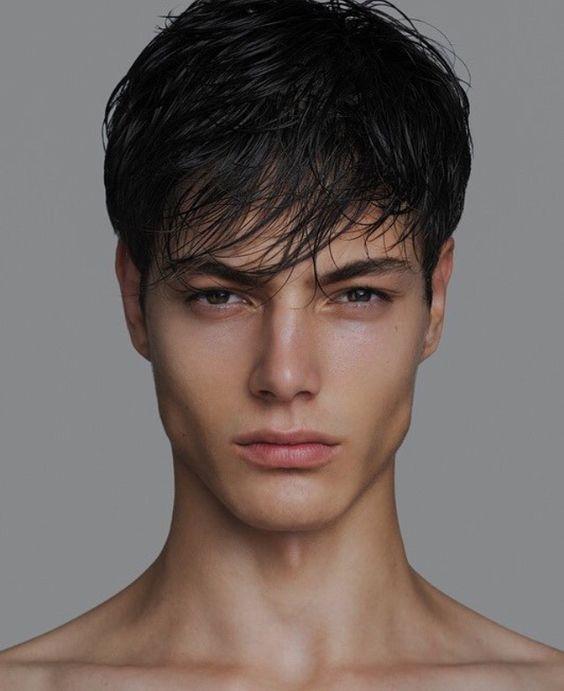 модель парень