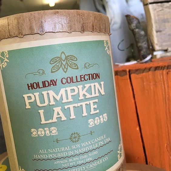 Pumpkin Latte. Only for a limited time. #southernfireflycandle #southernfirefly #pumpkinlatte #holidaycandles http://ift.tt/1MhCWa8