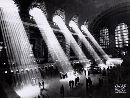 Grand Central Station, New York City, c.1934 Fine-Art Print by Sir Edward Hulton and Getty Images at FulcrumGallery.com