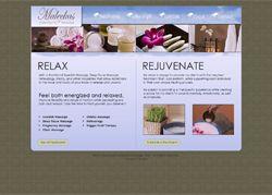 Massage Therapist SEO Website Design at http://www.MaleckasTherapeuticMassage.com