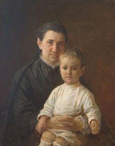 Nikolai Ge - Portrait Evdokiya Nikolajewna Kostycheva