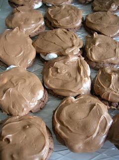 Chocolate Marshmallow Brownie Cookies