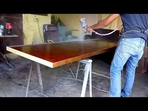 Hoy Toco Barnizar Puertas Youtube Carpinteria Y Ebanisteria Barniz Para Madera Pintando Sillas De Plastico