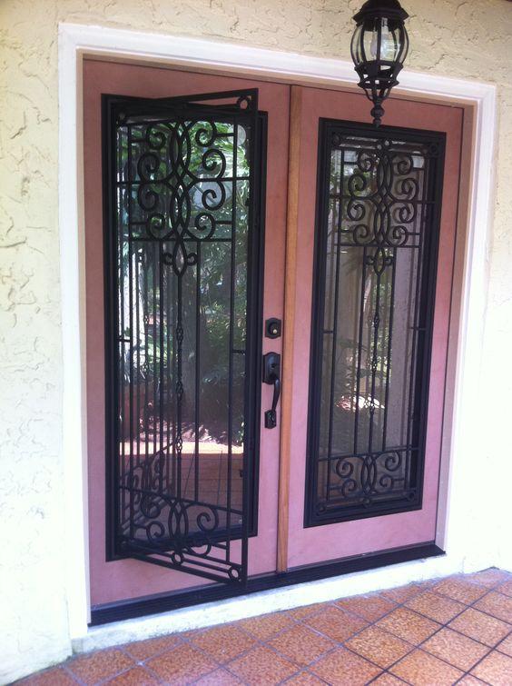 Double door entryway with odl veranda glass inserts favorite doors installed pinterest - Odl glass door inserts ...