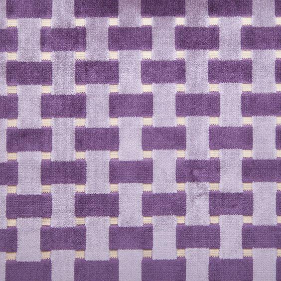 violet lattice work cut velvet home decor fabric fabric by the yard mood fabrics