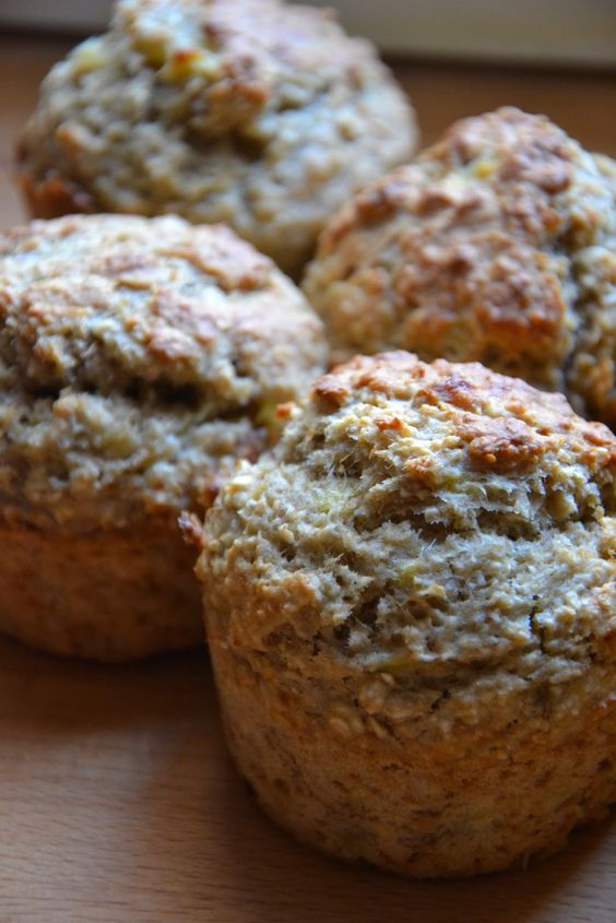 banana bran muffins...healthy, and yummy!  Recipe after the jump!