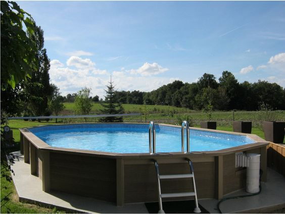 Piscine en b ton auchan achat piscine piscine ovale en for Piscine beton projete prix