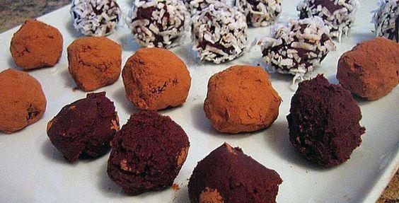 delicious low-sugar chocolate truffles recipe