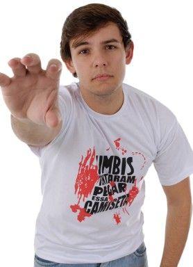 Camisetas DIVERTIDAS | Camiseta ATAQUE DE ZUMBIS