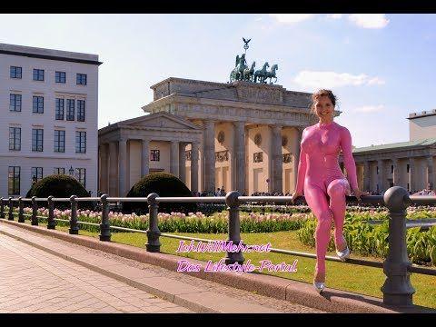 Live Blog Berlin Teil 5 Ricci Tauscher Am Brandenburger Tor Youtube Berlin Unterwegs Catsuit