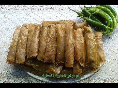 طريقة محشي ورق الملفوف محشي لخنه ام عبدو الحلبيه الاصليه Om3abdo Youtube Food Vegetables Dishes