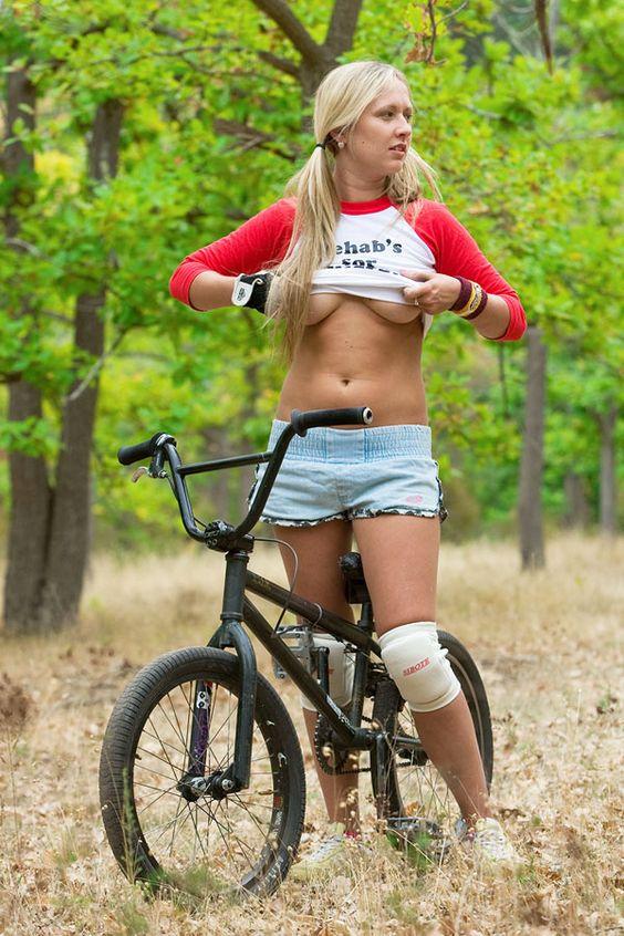 naked teen on a bmx bike pics