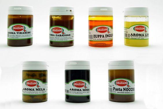 Prova i nostri aromi in pasta, il prodotto ideale per aromatizzare creme, semifreddi, impasti, gelati e dolci fatti in casa....16 gusti disponibili! http://decorazioniperdolci.it/aromi-pasta.html