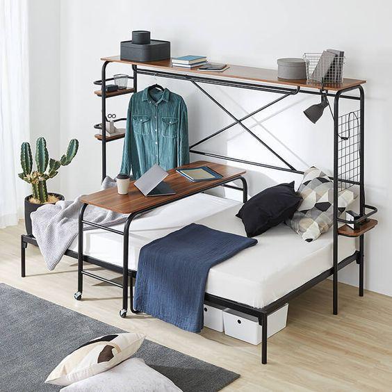ロウヤ、ニトリ、IKEAの「人をダメにするベッド」のおすすめ7選!机や収納など機能満載