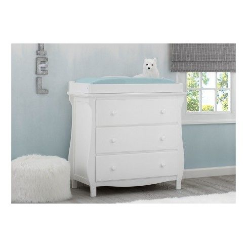 3 Drawer Dresser With Changing