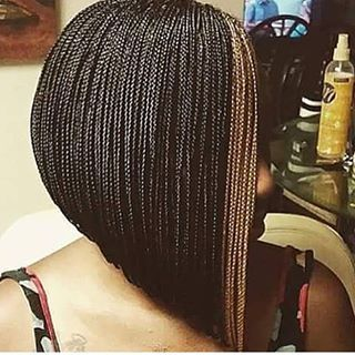 Crochet Box Braids In A Bob : box braids bob - Google Search Hair Pinterest Bobs, Box braids ...