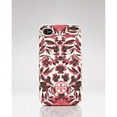Tory Burch iPhone Case - Garnet