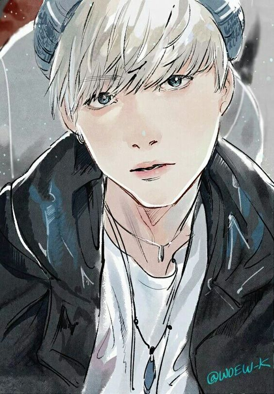 Suga fanart Random KIdols BTS Art & Wallpaper