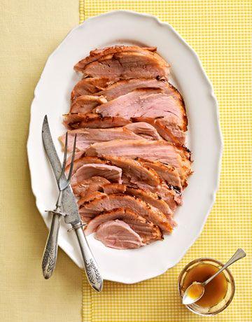 Pineapple-Glazed Ham #easter #recipe