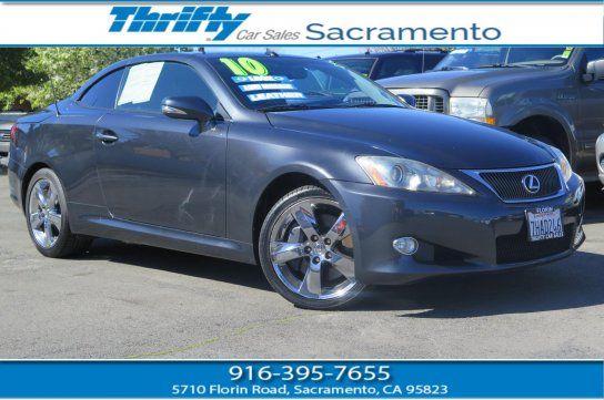 Convertible 2010 Lexus Is 350c With 2 Door In Sacramento Ca 95823